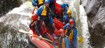 A faire : Essayer le rafting